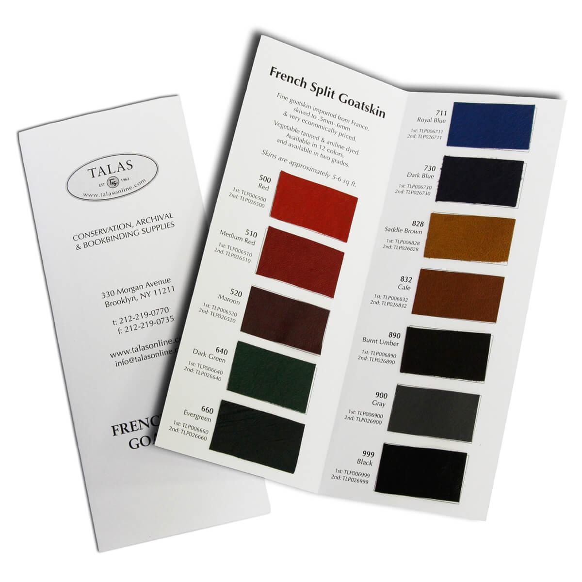 sample books book cloth leather paper talas