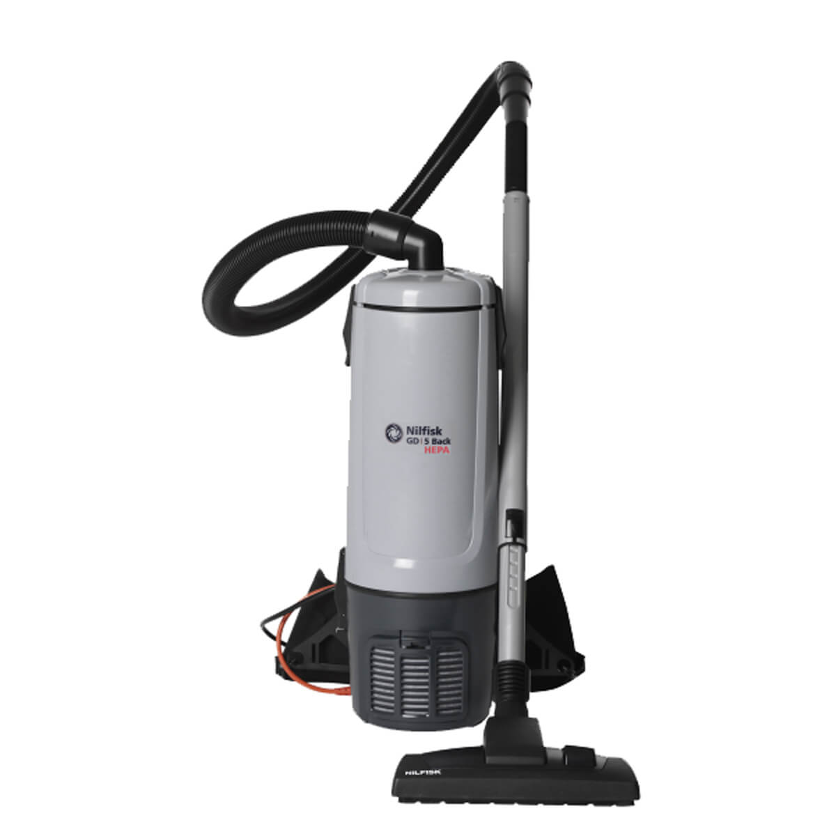Nilfisk GD10 Back Vacuum & Accessories