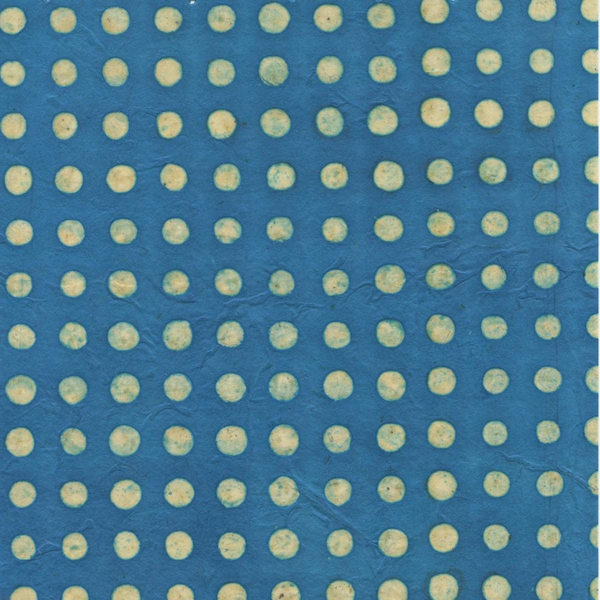 #13 Dot on Turquoise