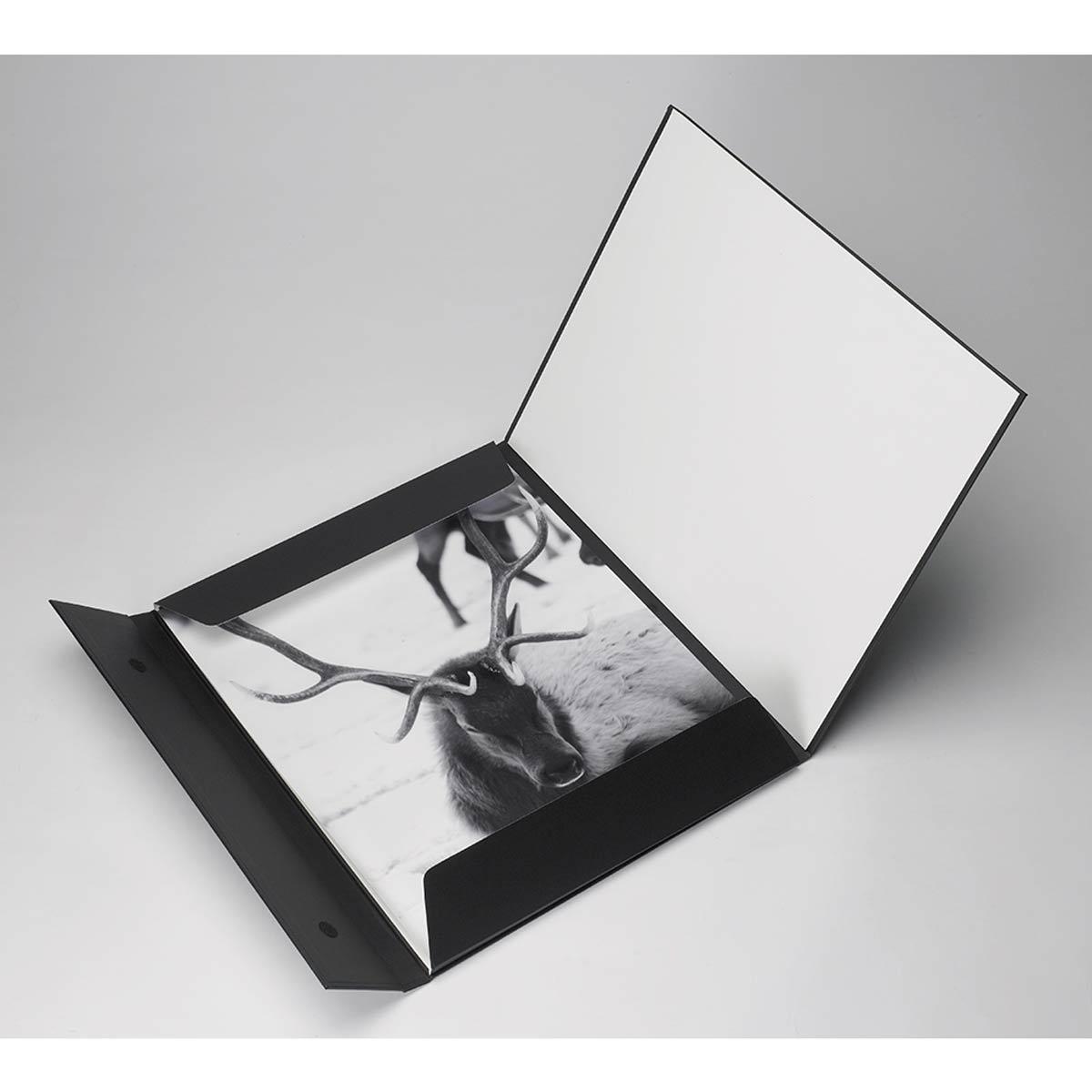 Fold-Over Portfolio Presentation Folder