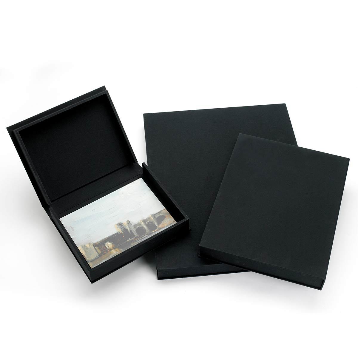 Fabulous Lipped Clamshell Luxury Presentation Portfolio Box | TALAS LS46