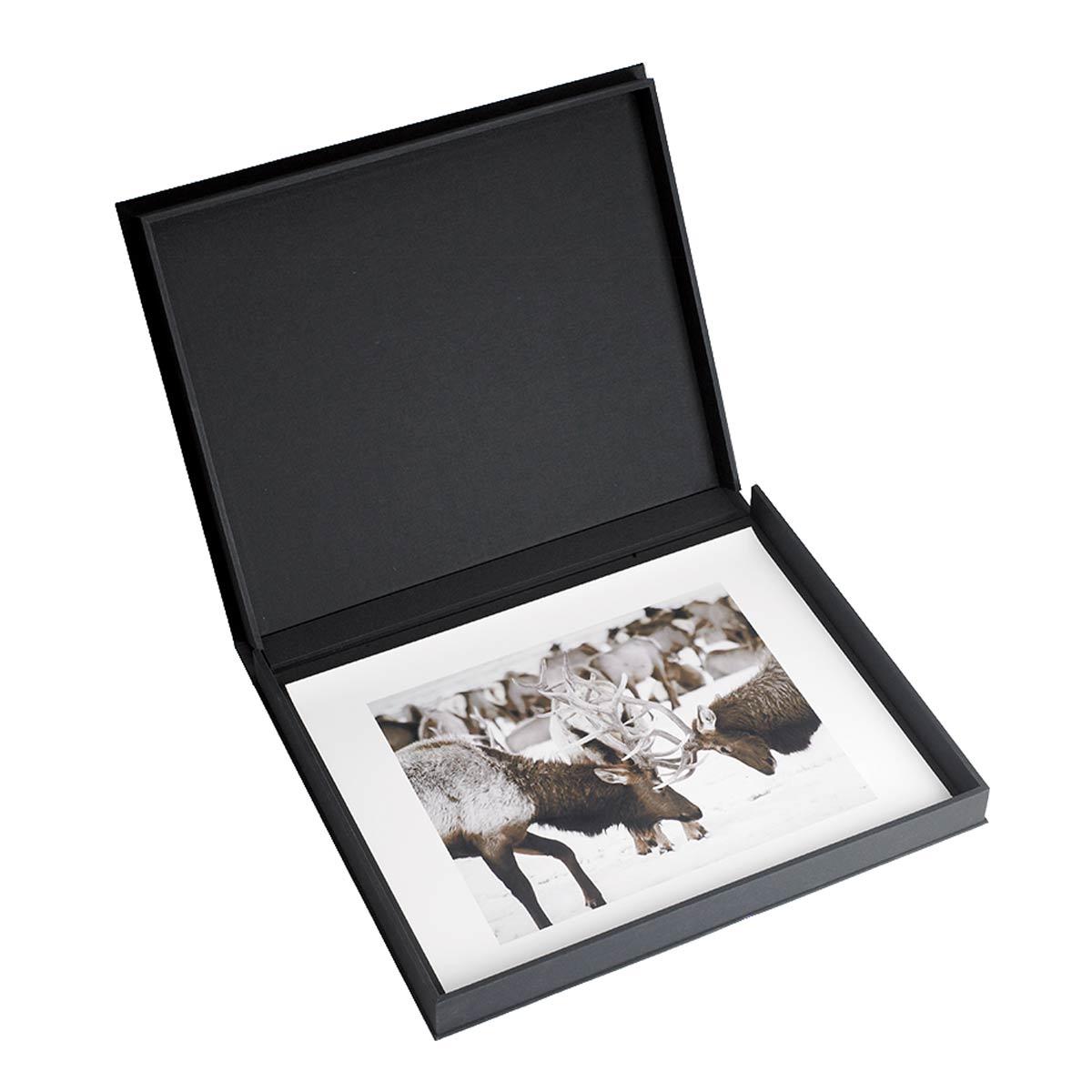 New Lipped Clamshell Luxury Presentation Portfolio Box | TALAS XT06