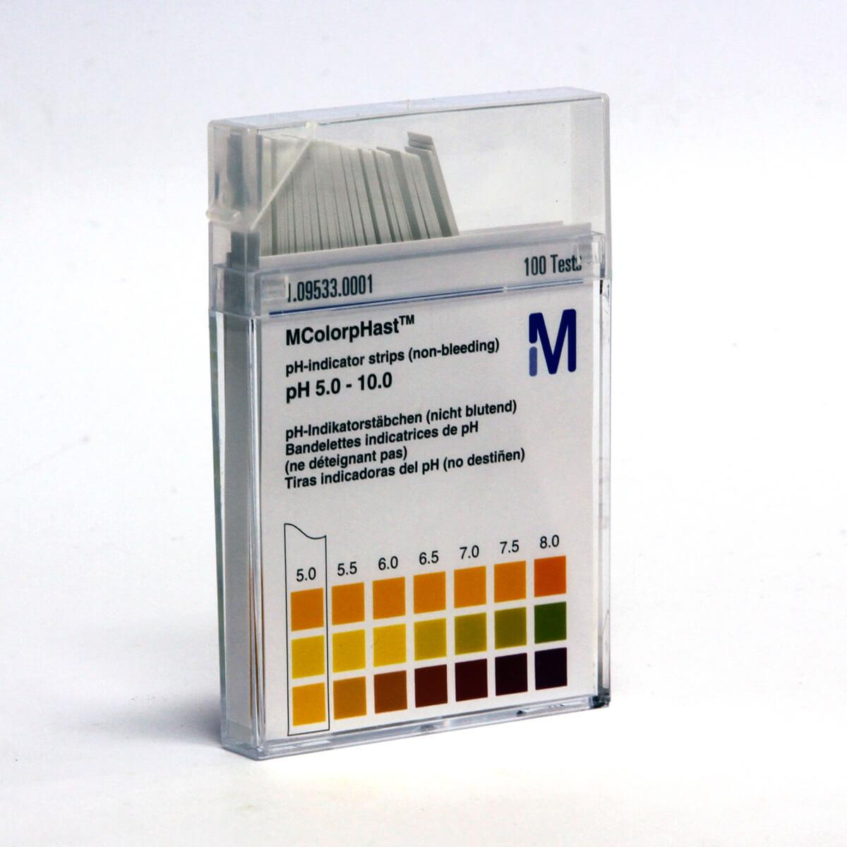 colorphast ph indicator strips instructions
