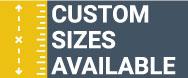 Custom Sizes Available