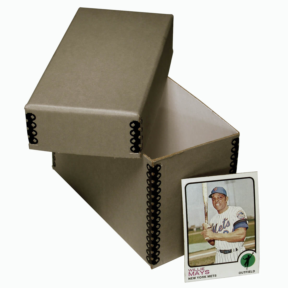 Archival Baseball Card Storage Box Talas