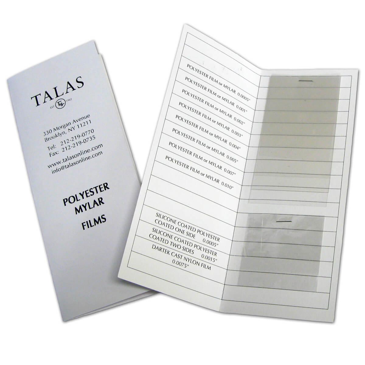 Archival Mylar Polyester Film Rolls | TALAS