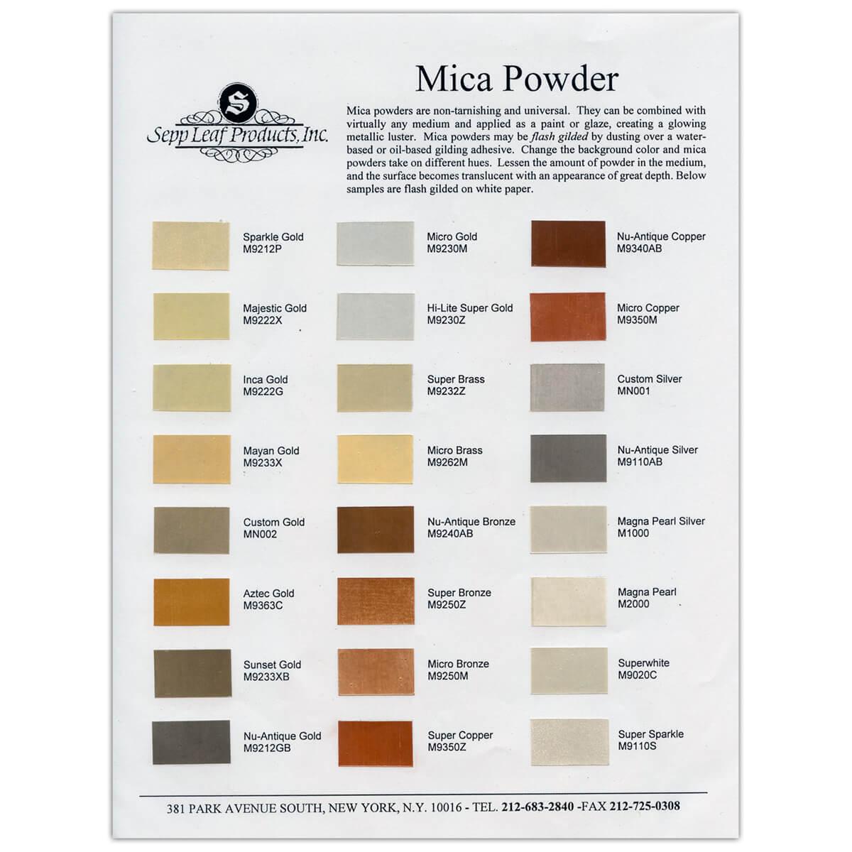 Mica Metallic Paint